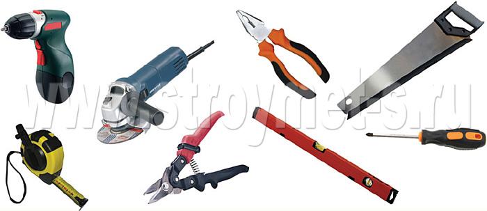 Оборудование и инструменты для монтажа сайдинга Docke-R
