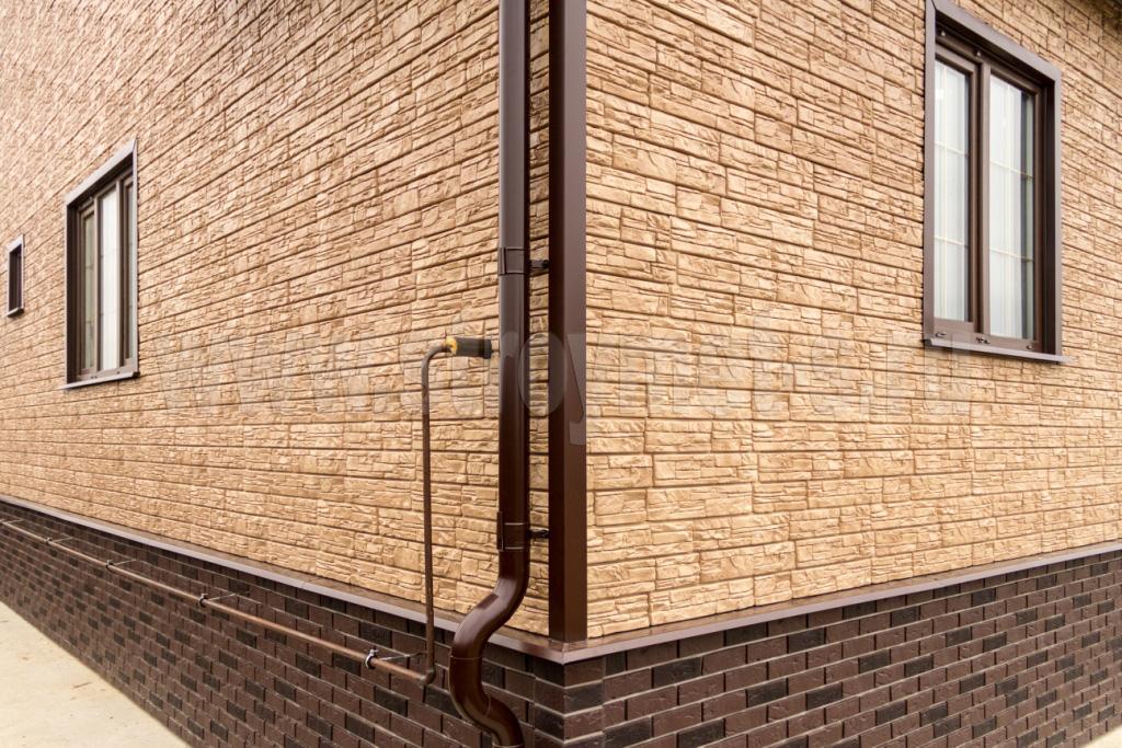 Обшить дом фасадными панелями 168