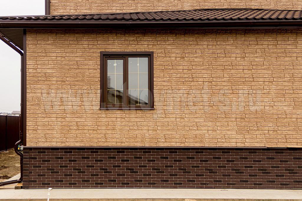 Обшить дом фасадными панелями 157