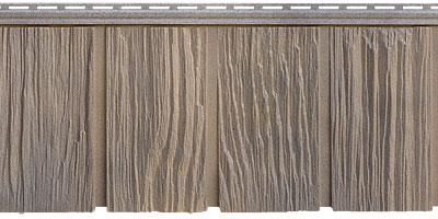 Цокольный сайдинг Я - фасад от Гранд Лайн - Коллекция Сибирская дранка, цвет железо