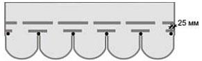 Схемы крепления гвоздей