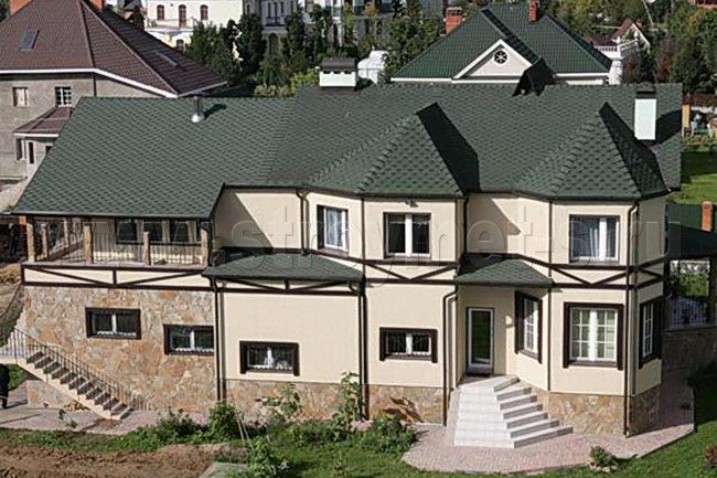 фото крыши катепал