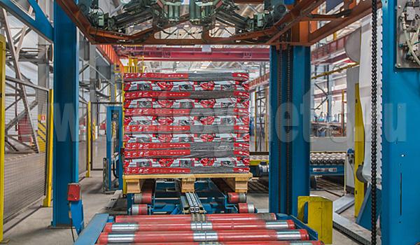 Современное оборудование на заводе ТЕХНОНИКОЛЬ ШИНГЛАС