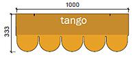 Нарезка гонта - танго