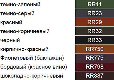 Картинки по запросу ruukki adamante Цветовая палитра