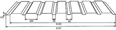 Профнастил С15А-1150