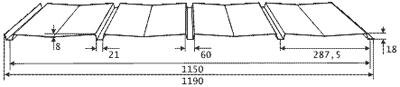 Профнастил С18-1150