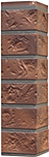 Рыже-терракотовый