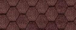 Коричневый цвет гибкой герепицы Катепал KL