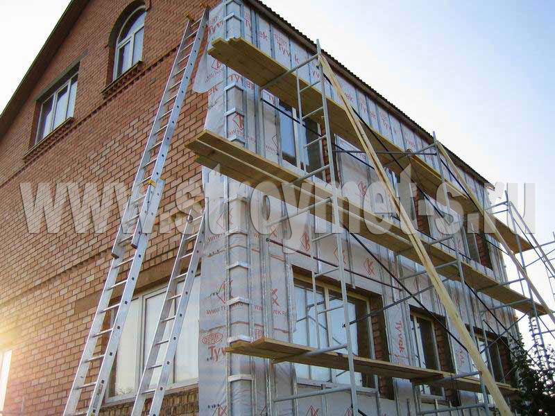 Монтаж пароизоляции каркасных домов