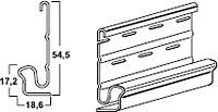 Стартовая полоса для оконно-дверной накладки