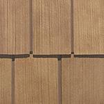 Фасадные панели Nailite серии Натуральный кедр
