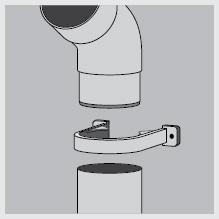 Крепление водосточных труб